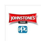 Logo for Johnstone's Trade Paints - a brand of PPG Industries