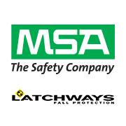 Logo for Latchways plc - an MSA Brand