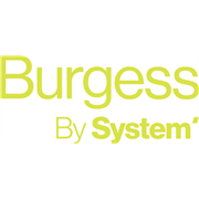 Logo for BURGESS BY SYSTEM