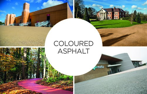 Tarmac - Clear Binder Coloured Asphalt: Applications Including SuDs