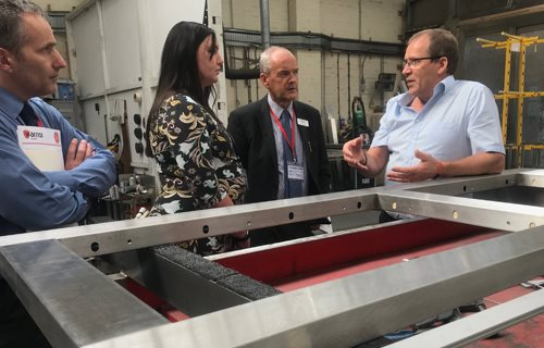 Warrior Doors Ltd - Factory Tour to Look at Design and Manufacture of High Security Doors at the Factory Unit in Birmingham