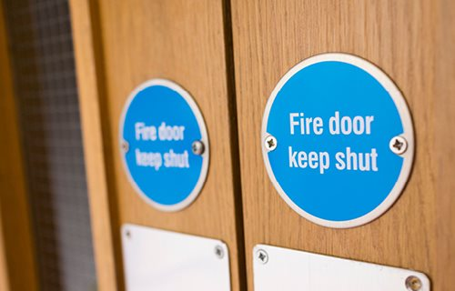 Lorient Polyproducts Ltd - The Role and Performance of Fire and Smoke Resisting Doors