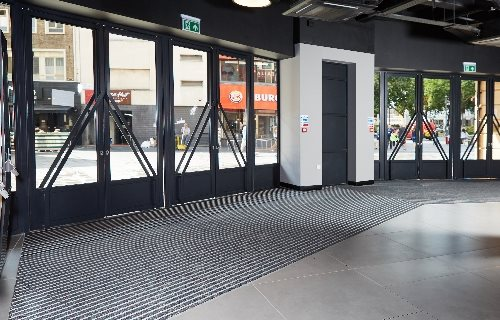 Quantum Flooring Solutions, a trading name of Quantum Profile Systems Ltd - Step on It: Specification of Entrance Matting