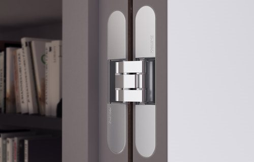Krona Koblenz SpA - Specification, Performance and Features of Concealed Hinges and Sliding Systems for Doors in Residential and Commercial Spaces