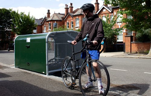 Falco UK Ltd - Creating the Cycle Parking Infrastructure to Support Cycling in the UK