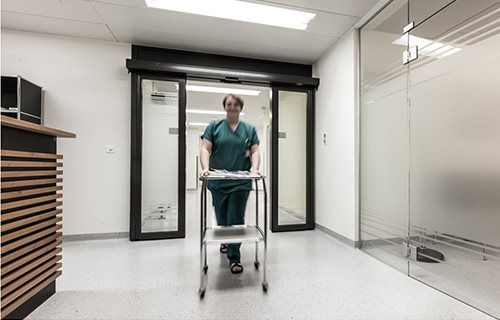 Gilgen Door Systems UK Ltd - Design Considerations when Specifying Automatic Doors in Health Care Buildings