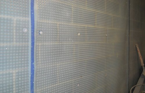 Triton Systems - Type C Cavity Drain membrane Waterproofing